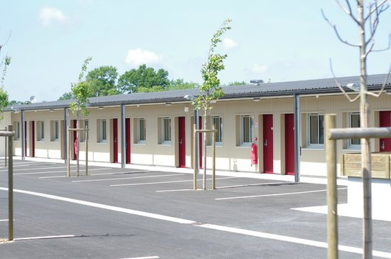 Motel des Landes: Extérieur