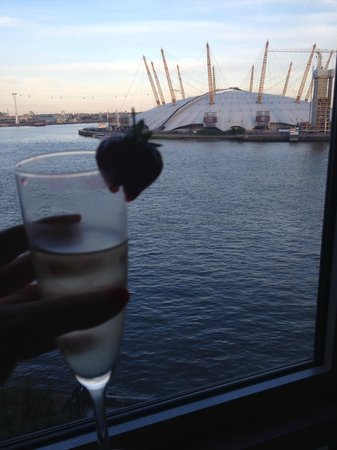 Radisson Blu Edwardian New Providence Wharf Hotel: River View Room