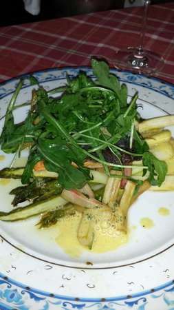 Cuochi per Caso: Lachs und Italienischer Spargel