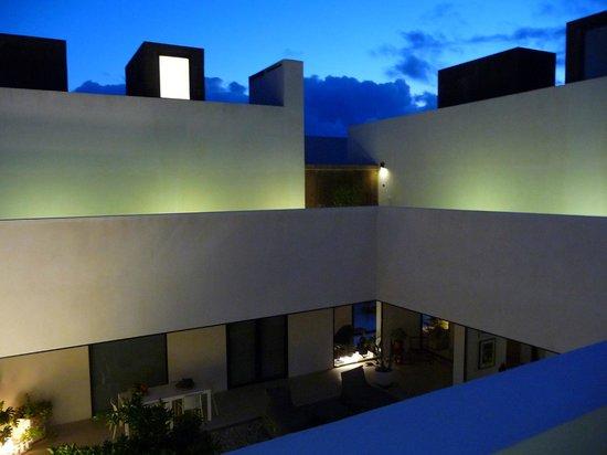 Villa Extramuros : Am Abend auf der Galerie