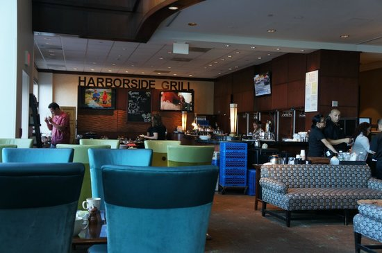 Hyatt Regency Boston Harbor: Harborside Grill