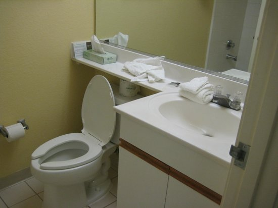 Extended Stay America - Washington, D.C. - Sterling - Dulles : basic bathroom