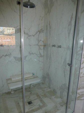 Baglioni Hotel Luna: Shower