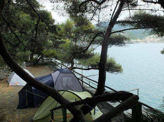 Villaggio Smeraldo : Emplacements pour tentes