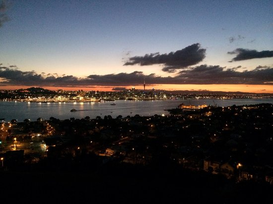 North Head Historic Reserve : Looking out over Auckland city, amazing