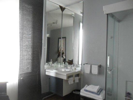 Chambre d'hotes L'Ambroise: Salle de bain
