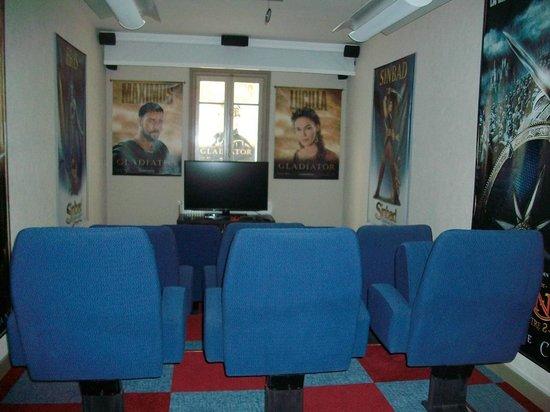 La Villa Quo Incidence: salle de cinéma