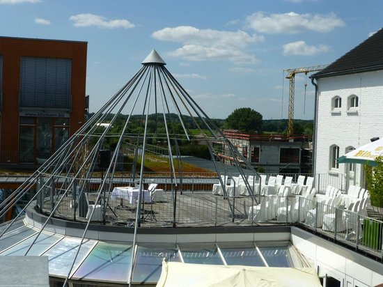 Factory Hotel: Dachgarten