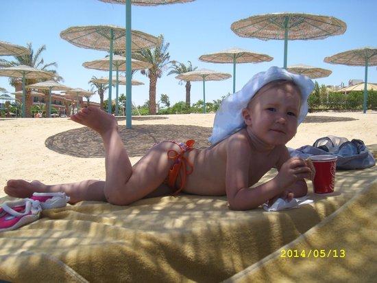 The Three Corners Sunny Beach Resort: ПЛЯЖ