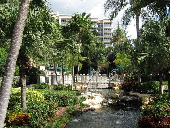 Club Regency of Marco Island: Aussenanlage