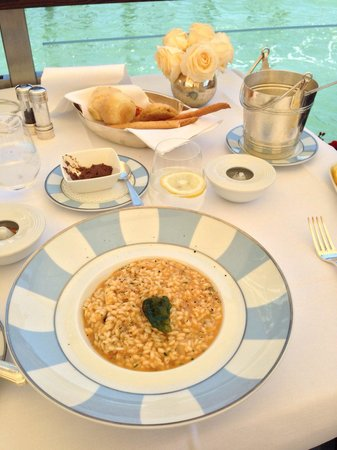 The Gritti Palace, A Luxury Collection Hotel: Risotto con cappe miste (32€)