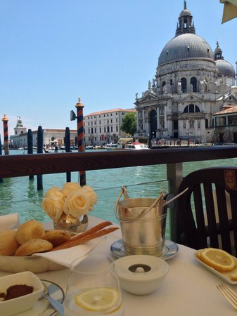 The Gritti Palace, A Luxury Collection Hotel: View from our table
