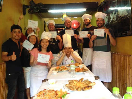 Blue Butterfly Cooking Class: With our certificates!