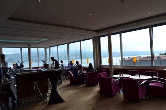 Hotel Meierhof: vista desde el restaurante