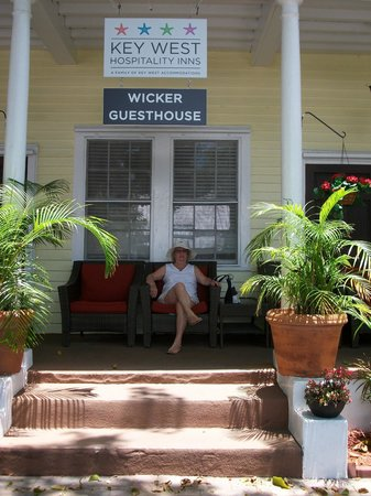 Wicker Guesthouse: Enter of the guesthouse