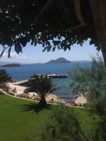 Sianji Wellbeing Resort: ponton
