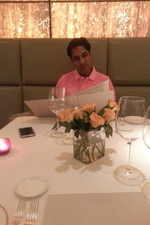 The Oberoi: In Italian restaurant in Oberoi