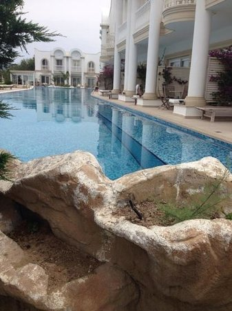 Sianji Wellbeing Resort: villa pool view