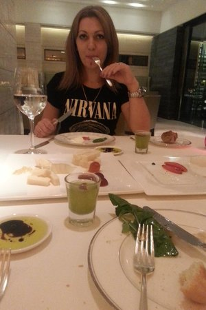 The Oberoi: i loved the choice of cheese)))