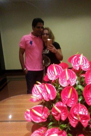 The Oberoi - TEMPORARILY CLOSED: happy couple in Oberoi))