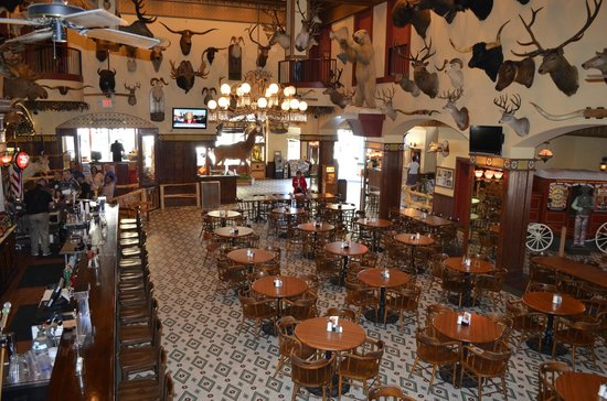 The Buckhorn Saloon and Texas Ranger Museum: Inside Buckhorn Saloon