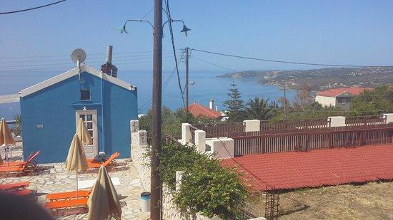 Casa De Blue Studios: ook van ons balkon