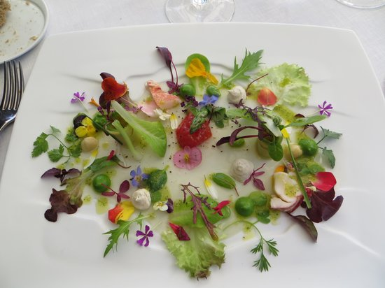 Martin Berasategui : a salad too beautiful