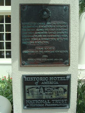 Hotel Galvez & Spa A Wyndham Grand Hotel : Historic accreditation
