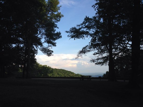 Monte Sano State Park : Look out early evening