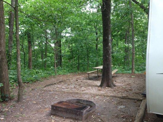 Monte Sano State Park: Camp site