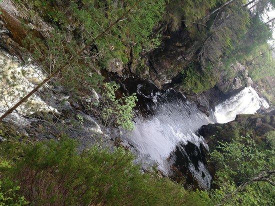 Quad Bike Tours: Waterfall at estate