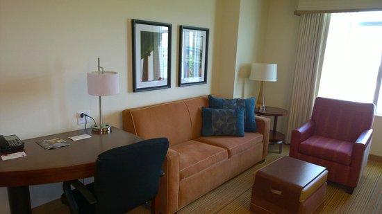 Residence Inn Arlington Capital View : Living room