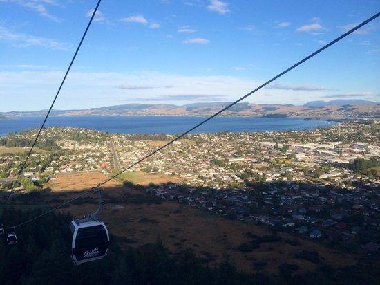 Skyline Rotorua : The view