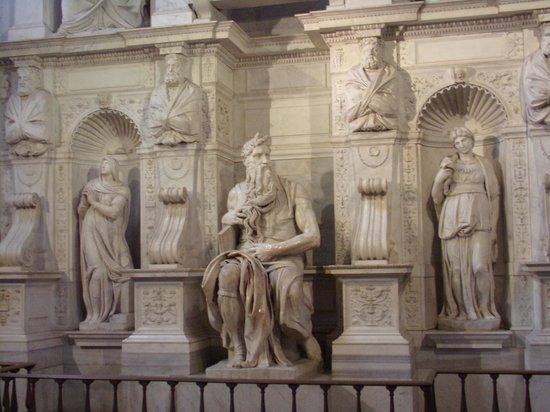 Saint-Pierre-aux-Liens (San Pietro in Vincoli) : moses