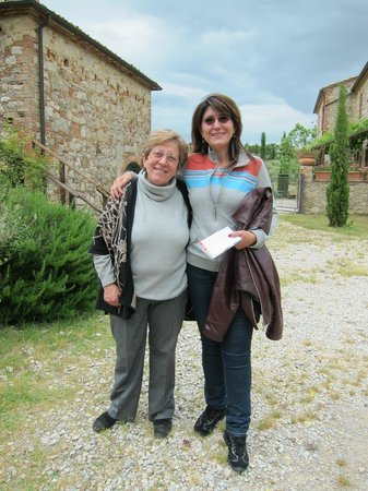 Podere Alberese: La simpaticissima Signora Antonietta!!!