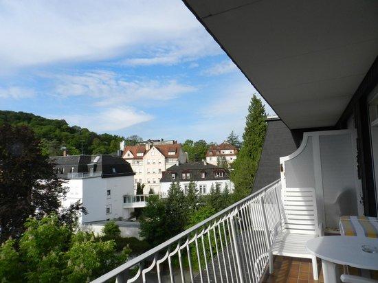 Wyndham Garden Bad Kissingen: Balkon