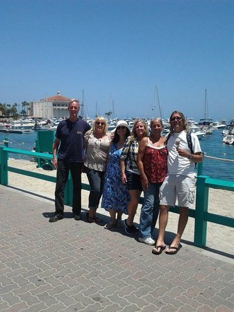 Avalon Grille: Friends day at Catalina