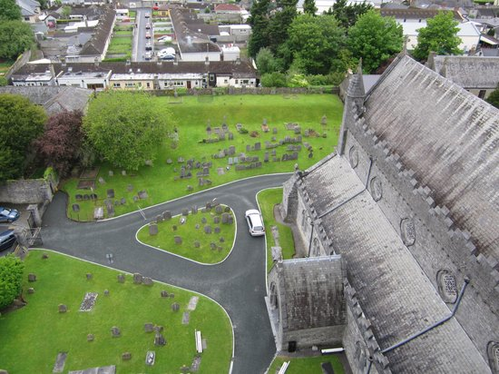 St. Canice's Cathedral & Round Tower : view from tower 2