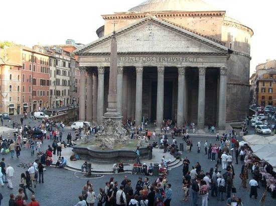Albergo del Sole Al Pantheon: The ultimate room with a view