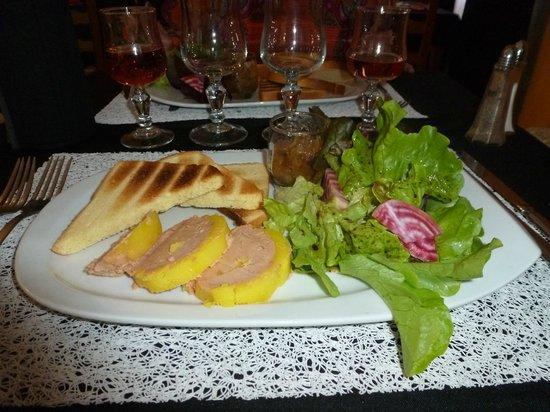 Hotel Le Colombier du Gard : FOIR GRAS QUALITATIF ET QUANTITATIF ....