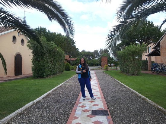 Fattoria San Lorenzo : Jardín