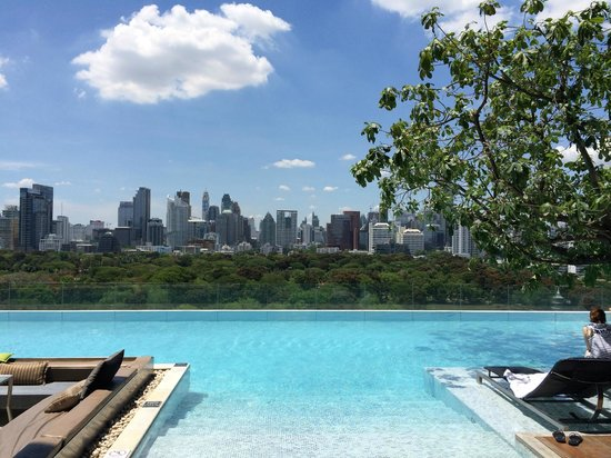 SO Sofitel Bangkok: Gorgeous infinity pool