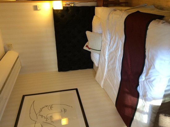 Scandic Klara: standard room