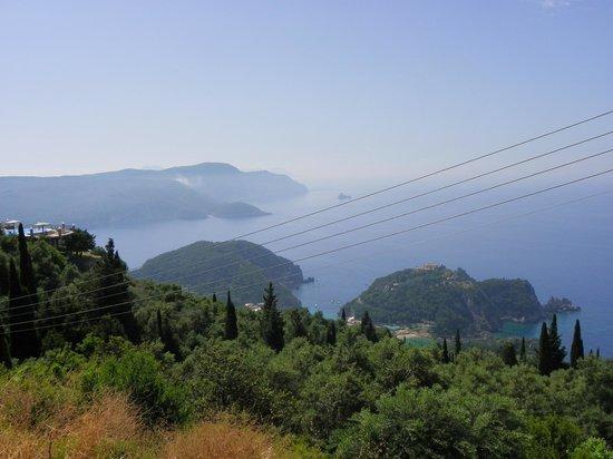 Matoula Apartments : paleokastritsa bay from the top