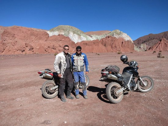 On Safari Atacama: Juan Pablo is one if the greatest Moto tour guides that I've known.