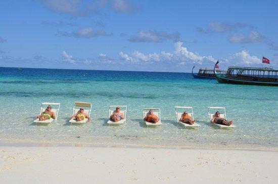 VOI Maayafushi Resort: Man hat ständig Dinge zu tun!
