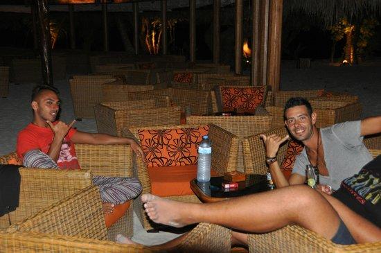 VOI Maayafushi Resort: Vito und Valerio (Staff)