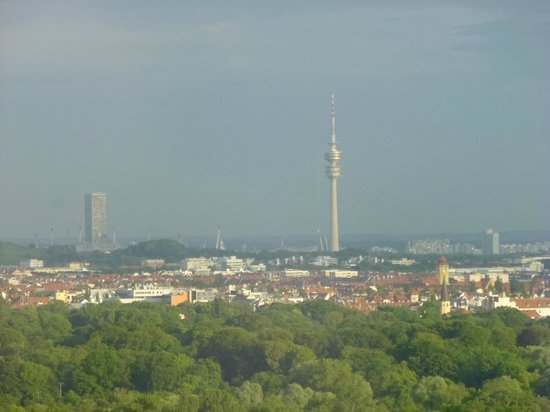 The Westin Grand Munchen : View of Olympic Tower
