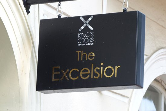 Excelsior Hotel London : Excelsior Hotel sign