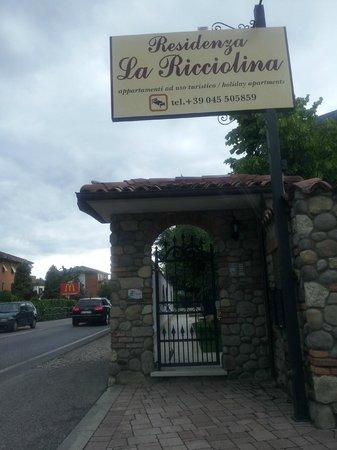 Residenza La Ricciolina: Entrada